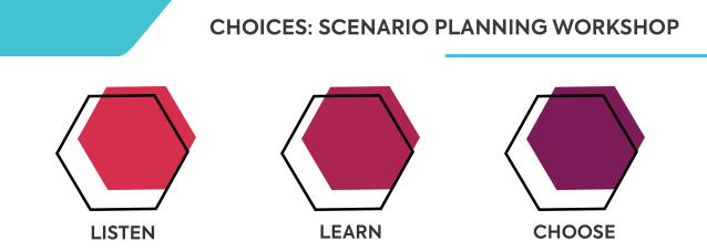 MPO invites the public to Choices: Scenario Planning Workshop on October 21