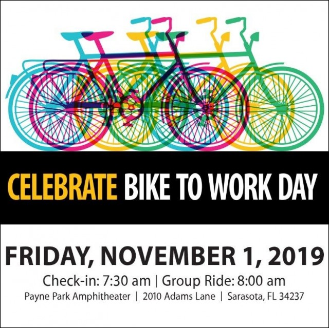 "Celebrate Sarasota ""Bike to Work Day"" event during Mobility Week"